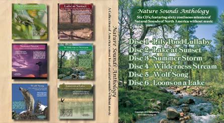 Nature Sounds Anthology 6 CD Collection